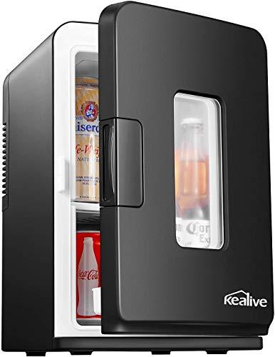 Kealive Mini Kühlschrank 2 in 1...