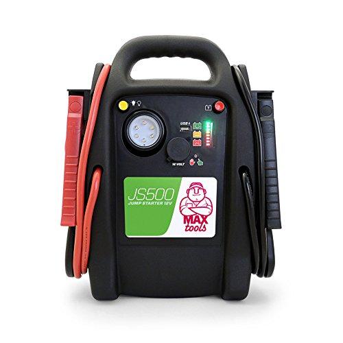 MAXTOOLS, JS500, Batterienotstarter für...*