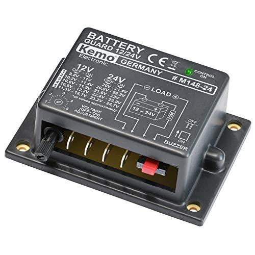 Kemo M148-24 Batteriewächter für 12...*
