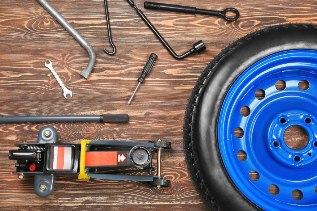 Werkzeug für den Reifenwechsel
