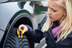 Die richtige Reifenprofiltiefe