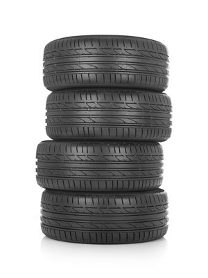 Reifenstapel mit unterschiedlichen Reifen
