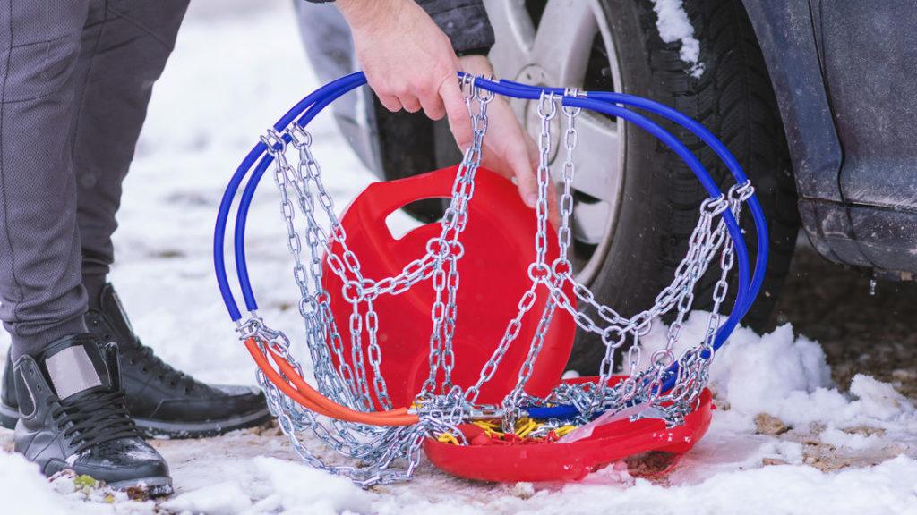 Schneeketten für sichere Fahrt im Winter