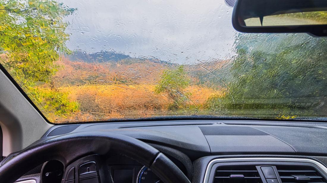Luftentfeuchter im Auto
