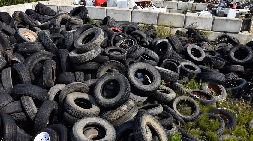 Altreifenentsorgung - Reifen umweltgerecht entsorgen