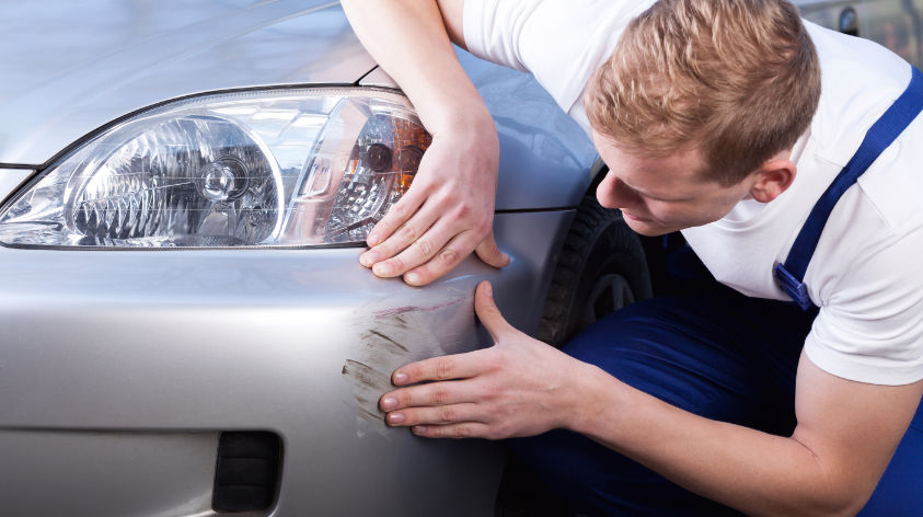 Auto Kratzer entfernen